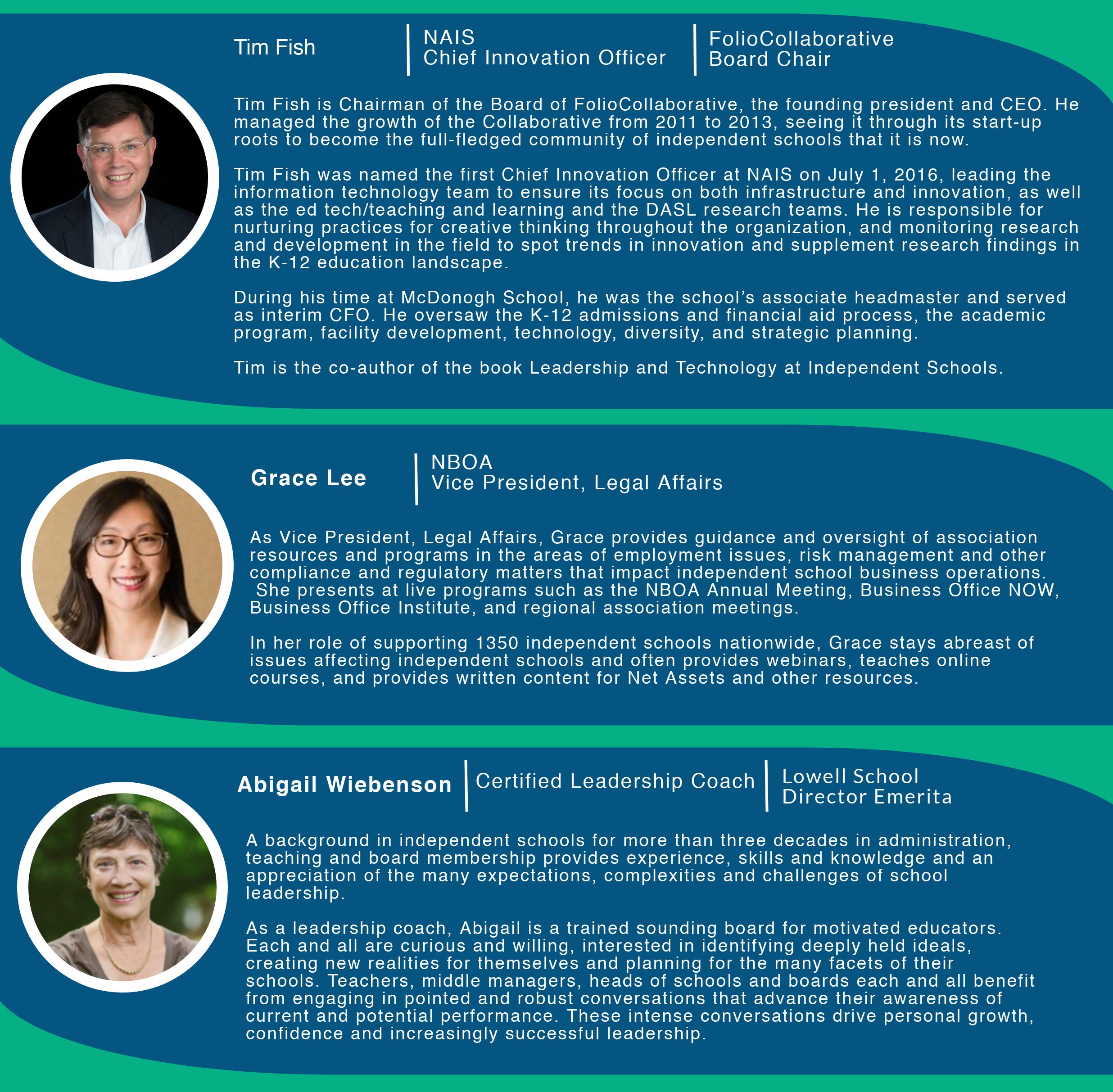 Featured Speakers bios