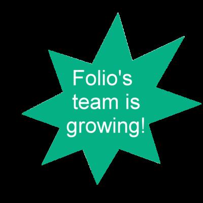Folio's team is growing!